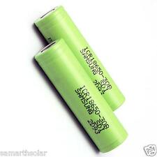 Original Samsung 3000mAh 3.7V 18650 Rechargeable Lithium Li-on Battery Cell 1pc