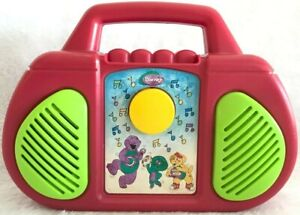 Details about Vintage Barney Purple Dinosaur Radio Stereo Boombox Theme  Song Music - WORKS
