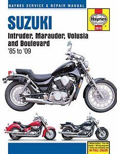 Suzuki intruder workshop manuals | ebay.