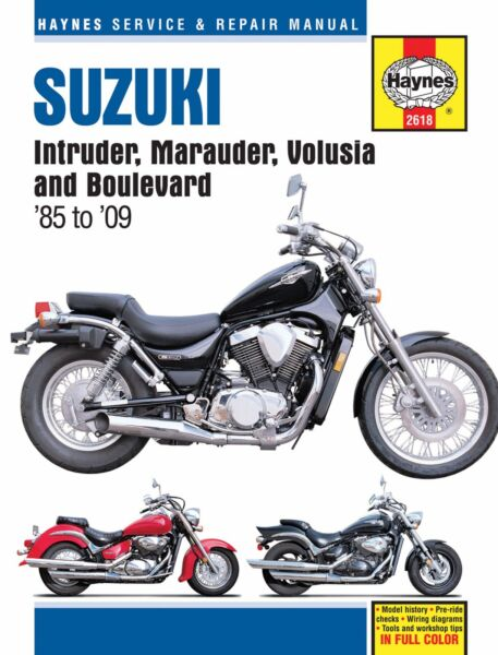 Suzuki intruder volusia marauder 700 750 800 boulevard c50 m50 you are bidding on a brand new haynes manual covers suzuki intruder fandeluxe Images