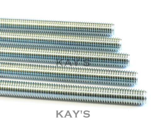Barra Roscada alta resistencia a la tracción de grado 8.8 Allthread tachonando Rod 1m M6-M30 Zinc