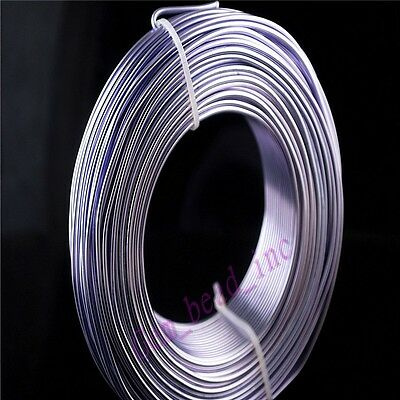 1mm 1.5mm 2mm Aluminum Wire Jewelery DIY Making Craft Wrap 2Meter 15Color U Pick