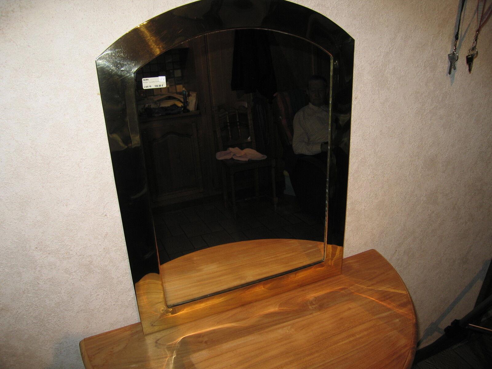 NEW Miroir bord cuivre H.67cm L.50cm Mirror