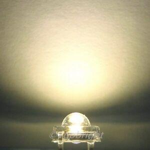 30-PCs-5mm-0-5W-Warm-White-SuperFlux-LED-100mA-47Kmcd