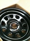 "16"" wheels rims steel 5/114.3 0P BLACK DRIFT JDM NISSAN SKYLINE S15 SOARER LEXUS"