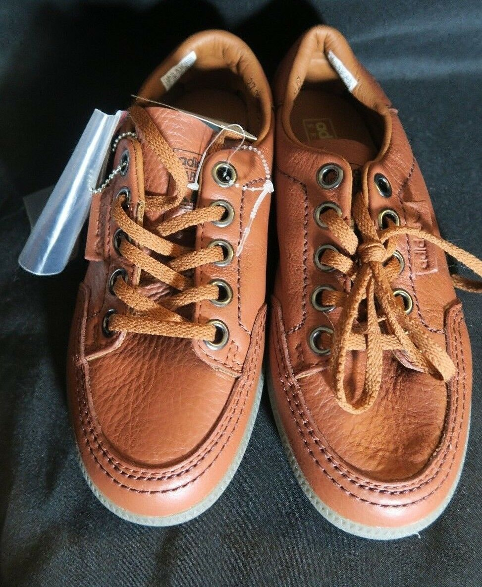 Adidas garwen spzl speciale spezial di pelle marrone supcol ba7723 originali dimensioni 6