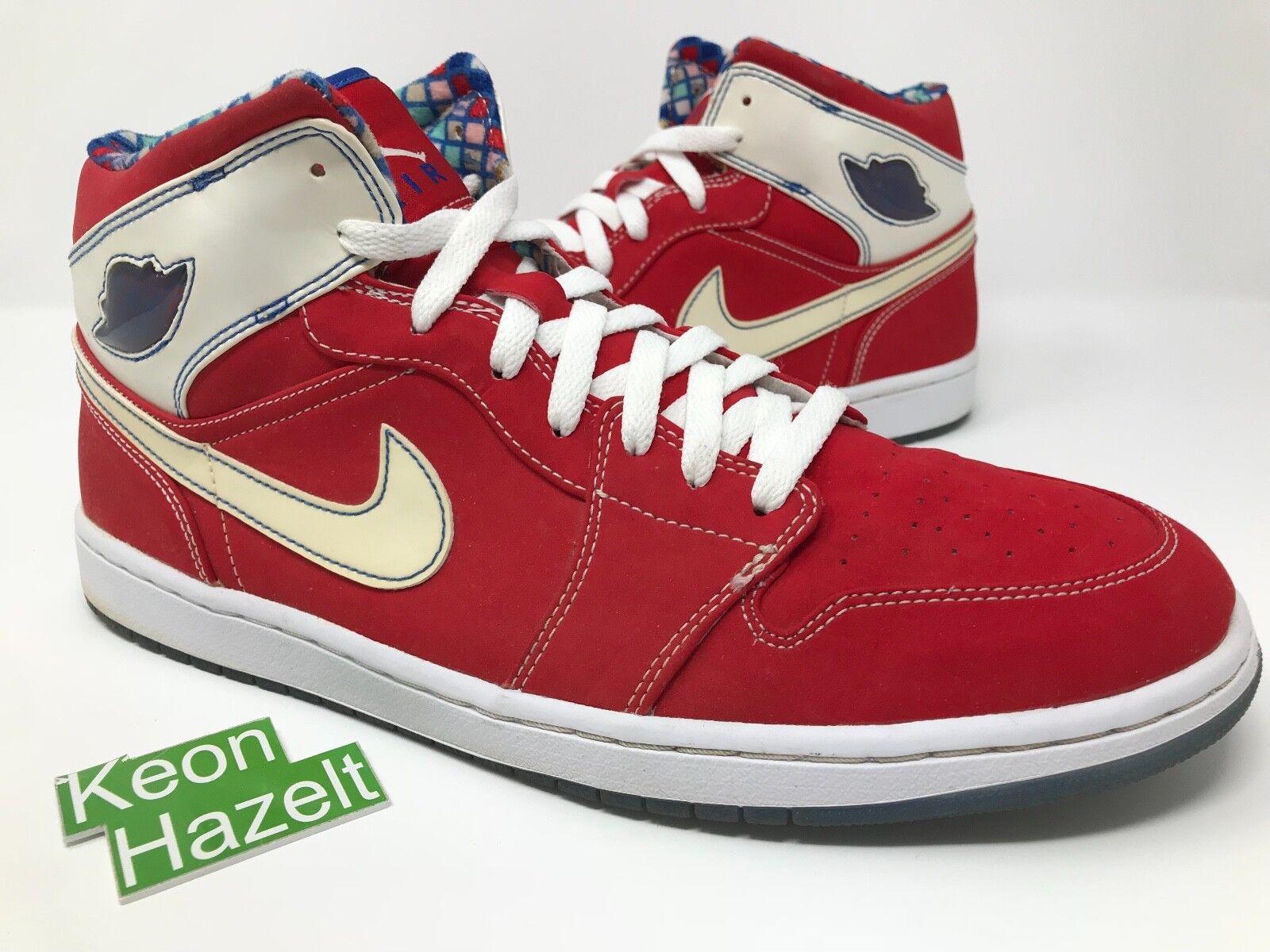Nike Air Jordan 1 Retro LS Royal Fear Pack OVO Gamma Tgold Bred Cement Sz 13.5
