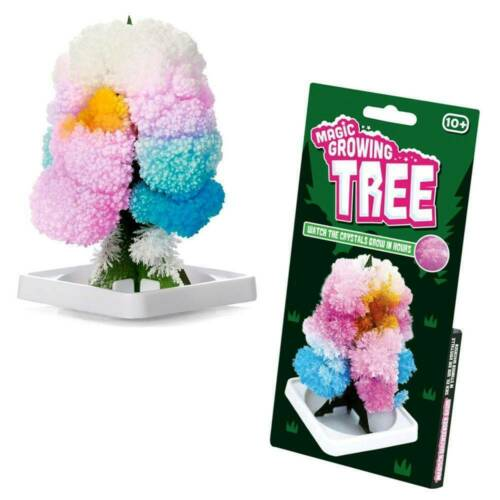 Magic Growing Christmas Tree Crystal Gift Toy Stocking Filler for Boy Girl Decor