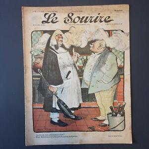 Le-Sourire-N-2-du-4-Novembre-1899-Illustrateur-FAIVRE-amp-GRUN