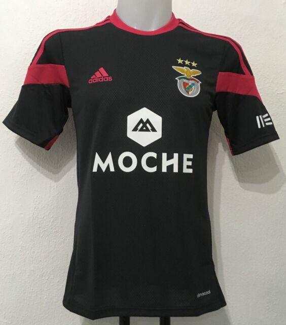 sale retailer 07b01 3def0 SL Benfica adidas Away Shirt 2014/15 Soccer Jersey Size XL