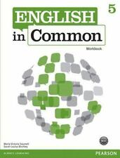 English in Common 5 Workbook by Sarah Louisa Birchley and Maria Victoria Saumell (2012, Trade Paperback)