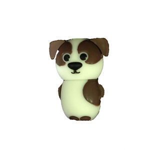 I-TOTAL-pennetta-USB-perro-y-blanca-marron-8-GB