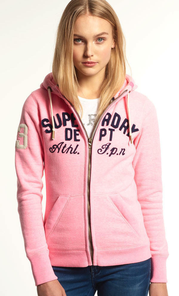 Superdry APPLIQUE SD DEPT ZIPHOOD