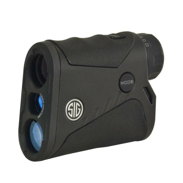 Sig Sauer KILO1200 4x20mm Digital Laser Rangefinder, Black - SOK12401
