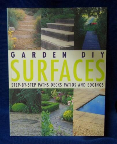 1 of 1 - Garden DIY Surfaces by Richard Key (Paperback, 2002)