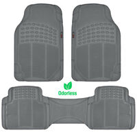 Motortrend Zero-odor Floor Mats For Car Truck Suv Gray Auto Accessories on sale