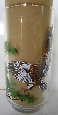 1978 Burger Chef Endangered Species Collector Glass-Bald Eagle VINTAGE