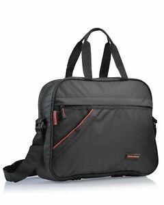 Adamson Polyester Shoulder Sling Laptop Messenger Bag For Unisex