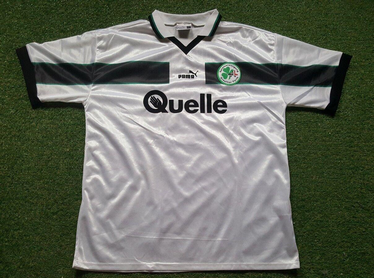 Greuther Fürth Camiseta XXL 98 99 Puma Camiseta Fuente
