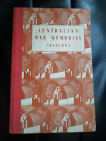 Guide To Australian War Memorial ~ Canberra + Illustrated ~ 1950