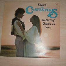 WEST COAST ORCHESTRA AND CHORUS - Tribute To The Carpenters (Vinyl Album)