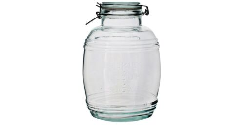 Maison /& cuisine Gratuit p/&p 3 L Préserver Pots Clip Top stockage verre baignoire