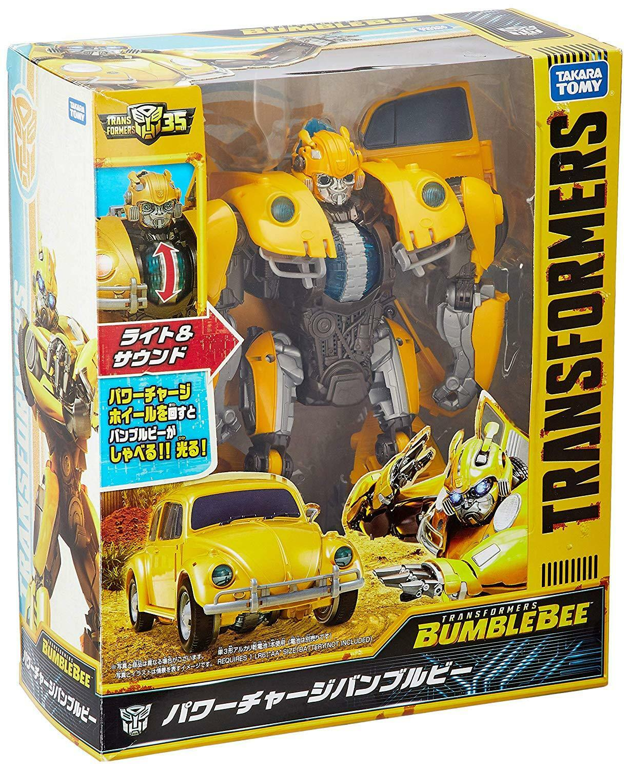 Transformers Power Charge Bumblebee New