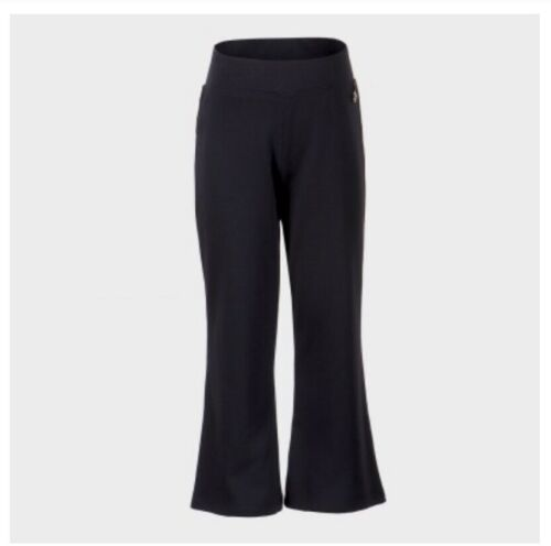 Girls stretch elasticated navy blue// blue school trousers age 3-16 years