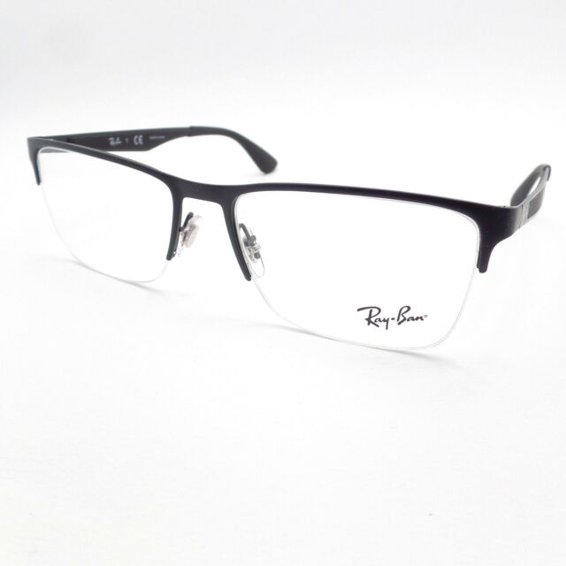 807b10e6e09 spain ray ban 6335 2503 matte black frame new authentic 8a319 be32a