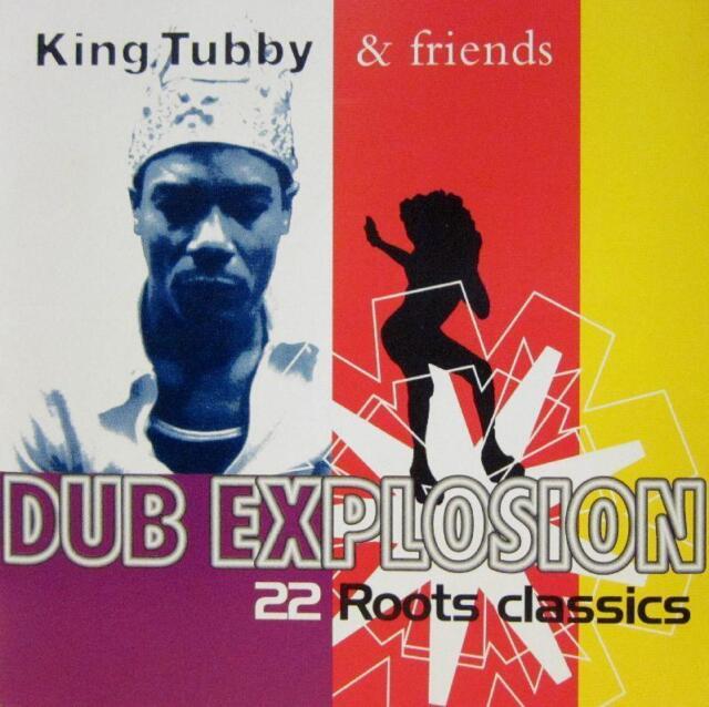 King Tubby & Friends(CD Album)Dub Explosion-Trojan-CDTRL 366-UK-1995-New