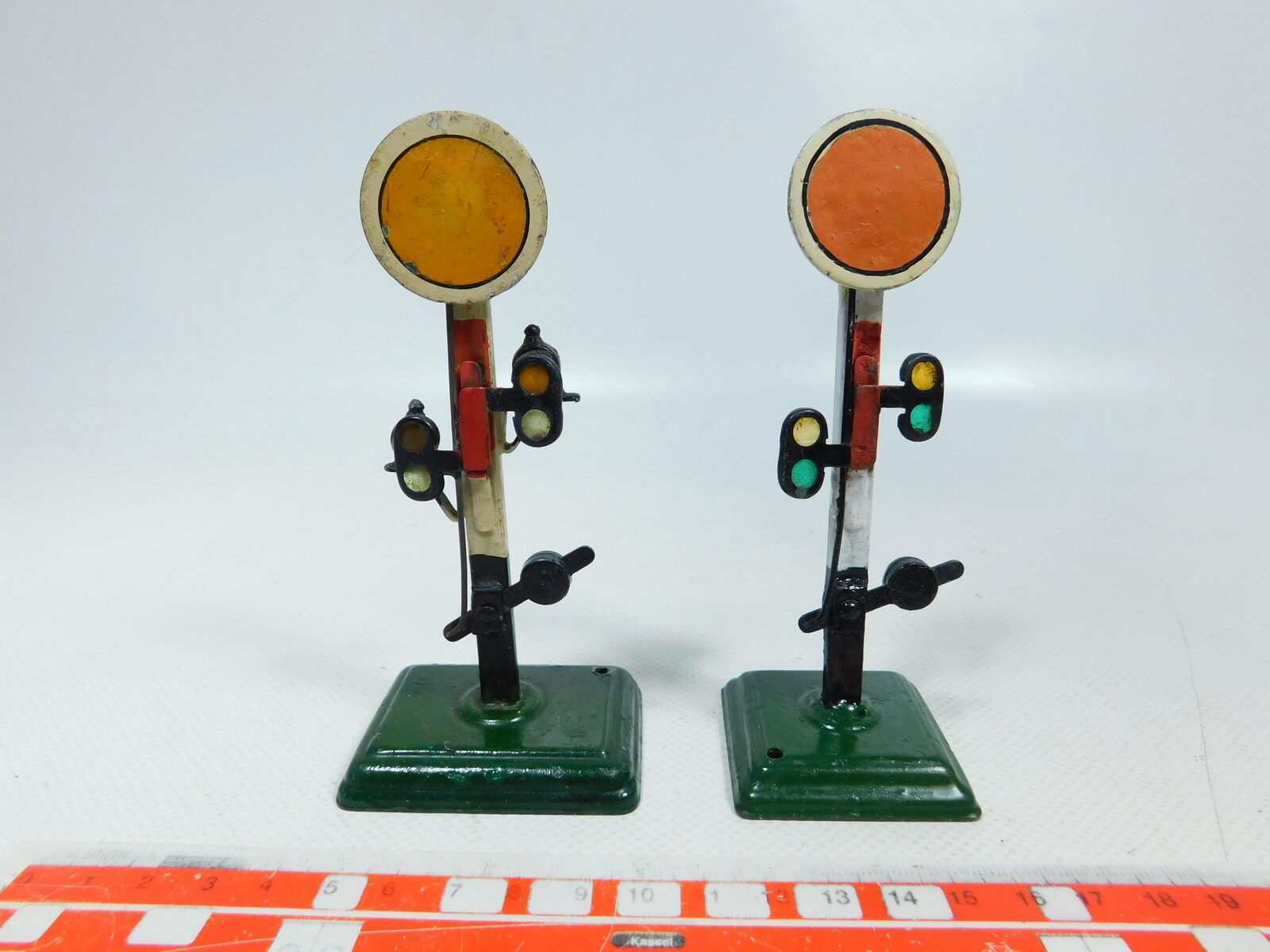 Bv991-0, 5 x märklin spur 0 signal (12 cm)  2328 0 + 2336 0