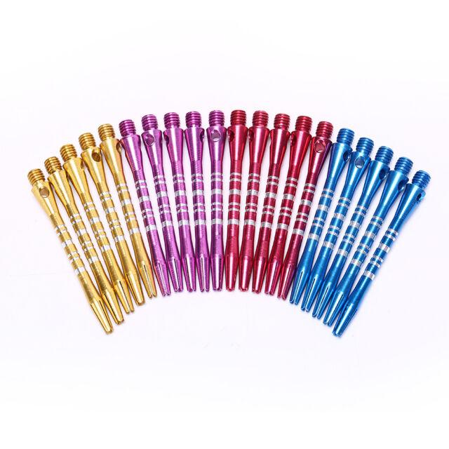 5pcs 4 Color blue/red/gold/purple Aluminum Alloy Darts Shafts 2BA Thread Dart FT