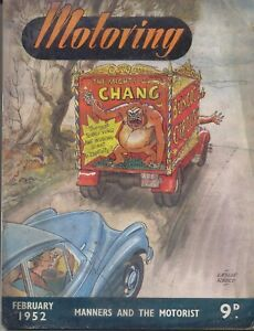 Motoring 2/52 Nuffield Mag Riley Water Pumps, Morris 8 'Cleave' Special