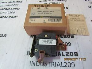 SQUARE D THERMAL OVERLOAD RELAY 9065 TYPE ATO-1L NEW IN BOX