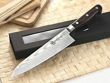 KATSURA Japanese Damascus Steel Gyuto Chef Knife Cutlery VG-10 8 inch RAN SHUN