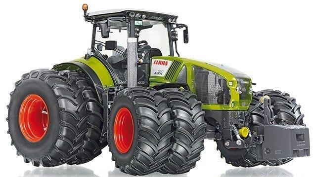 WIK77328 - Tracteur AXION 950 CLAAS jumelage avant arièrre équipé du relevage av