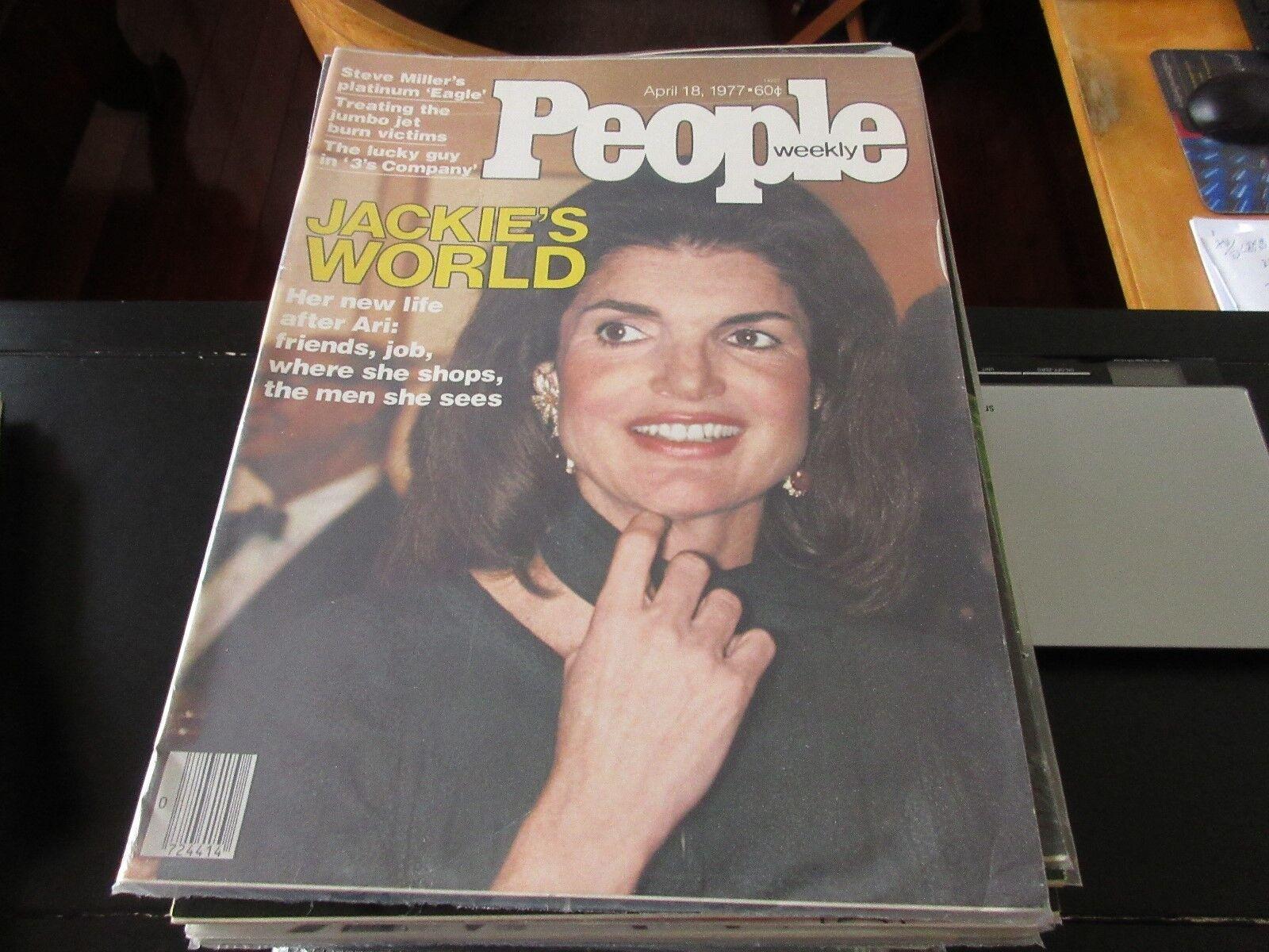 Jackie's World , People Weekly , 4/18/77 , 3's Company