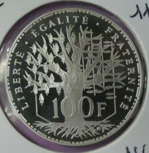 100-Francs-Pantheon-2000-BE-piece-de-monnaie-Francaise-ARGENT-N4