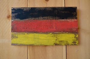Rustic German Flag