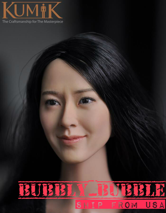 1 6 Kumik Female Head Sculpt Lim-Yoon-A For 12  Hot Toys Phicen SHIP FROM USA