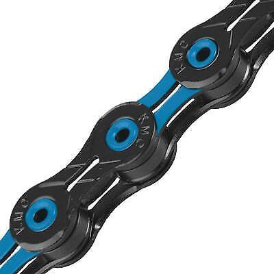 Kmc X10SL Bike Chain 116 Links Black//Orange Black//Blue
