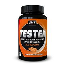 QNT Testek Ultimate Testosterone Booster & Superior Muscle Growth - 120 Caps