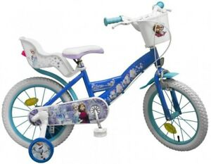 16 Zoll Mädchenfahrrad Kinderfahrrad Fahrrad Frozen Disney Eiskönigin Bike Rad