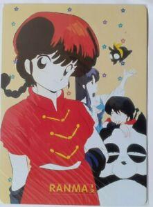 Cards Manga Mouse Pad Anime Ranma Girl Girl, P Chan, Akane + 1 bottle figurines