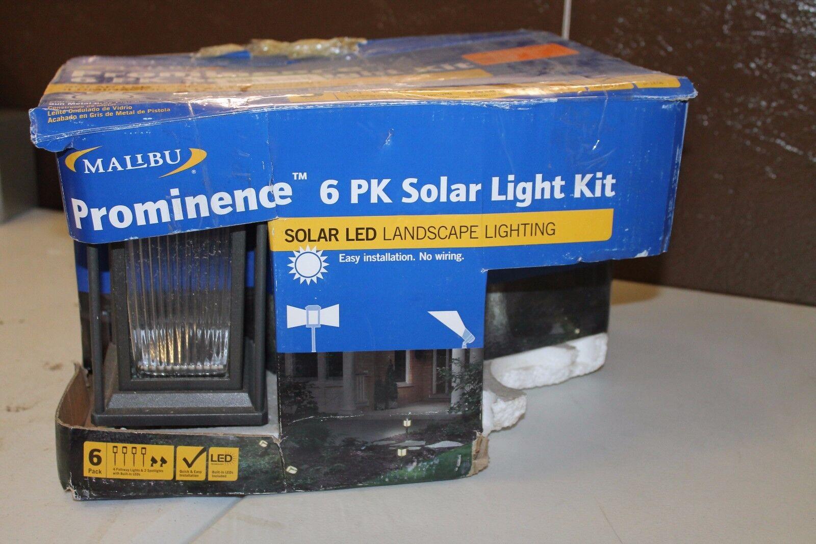 Malibu Solar Prominence Kit 6pk 8520