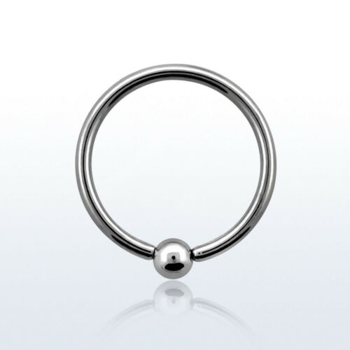 Micro pelota closure anillo piercing intimpiercing arete piercing nariz Helix Tragus