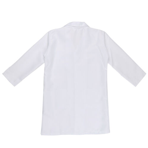 Costume Lab Coat Party Outfit Kids Doctor Fancy Dress Boys Girls Scientist Dr