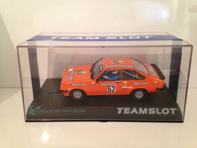 Team Slot 12704 Ford Escort MKII.RS2000 Auerberg 1981 New Boxed