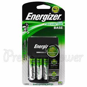 Energizer-Aufladen-Basis-Ladegeraet-fuer-AA-amp-AAA-NiMH-4-AA-1300mah-Akkus-EU