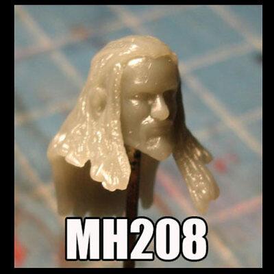 "MH114 Custom Cast head use w//3.75/"" Star Wars GI Joe Acid Rain action figures"